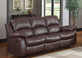 Leather Reclining Sofa Sets 1 509 00 Cranley 2pc Reclining Sofa Set In Brown Sofa And