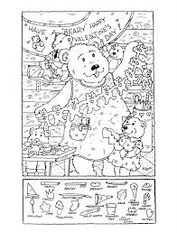 hidden pictures printable worksheets free worksheets library