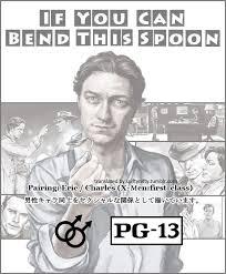 X Men Kink Meme - if you can bend this spoon scanlated cherik doujinshi erik