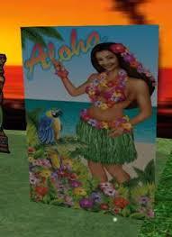 Tropical Themed Party Decorations - second life marketplace tropical luau hawaiian hula aloha