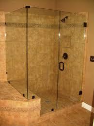 bathroom shower idea beige accents ceramic tiles wall for bathroom shower idea with