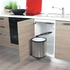 poubelle cuisine de porte poubelle automatique 30l conforama avec poubelle cuisine acheter