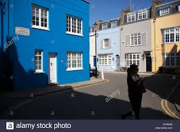 Painted Houses Brightly Painted Houses London Stock Photos U0026 Brightly Painted