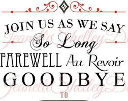 going away party invitations going away party clipart