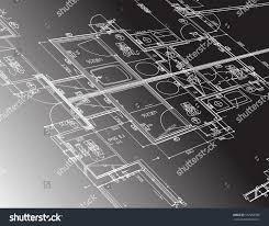 architecture plan guide illustration design graphic stock