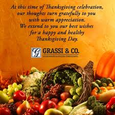 happy thanksgiving from grassi co new york accountants