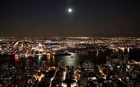 Hd New York City Wallpaper Wallpapersafari by New York City Lights Wallpapers Group 75