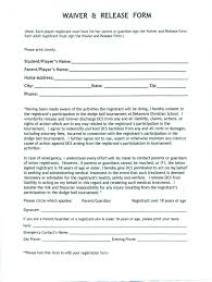 liability waiver form template wedding information card template