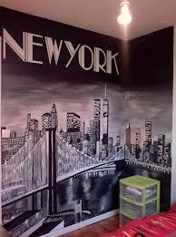 chambre theme york bonjour tout le monde je viens de terminer la fresque sur le theme