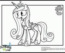 my little pony color page funycoloring