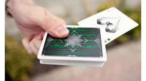 emerald artifice deck playing cards emerald ellusionist
