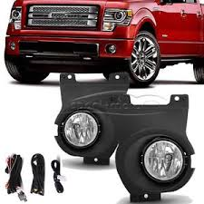 2013 ford f150 fog light replacement for 2011 2014 ford f150 clear front bumper driving fog light ls