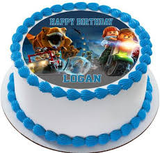 jurassic world dinosaur lego edible cake topper u0026 cupcake toppers