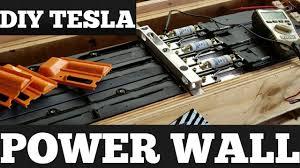 diy tesla powerwall diy tesla powerwall solar storage 18650 lithium ion home battery