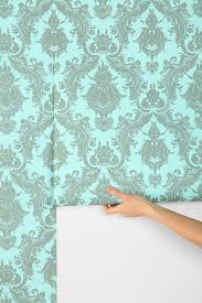 Temp Wallpaper by Damask Temporary Wallpaper Tempaper Damsel Temporary 33 X 205