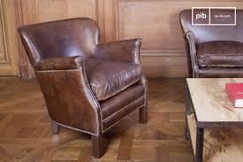 Leather Armchair Turner Leather Armchair Vintage Leather Armchair Pib