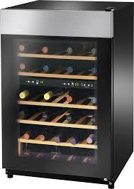 black friday wine fridge insignia 45 bottle wine cooler black ns wc45bk7 best buy