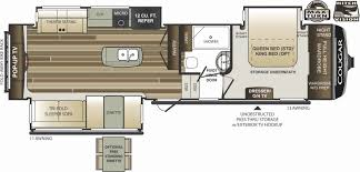 cougar floor plans 49 beautiful keystone travel trailers floor plans house floor