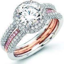 simon g engagement rings simon g pink white pave ring sg mr1451