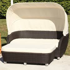 Outdoor Wicker Daybed Antiqua Outdoor Wicker Daybed Contemporary Patio Chicago