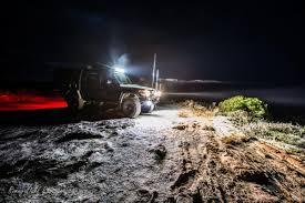 4x4 Led Light Bars by Driving At Night Off Road