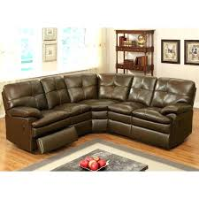 ferrara leather recliner sectional sofa bonded reclining sofas