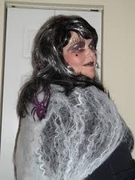 diy spider queen halloween costume craftymamab