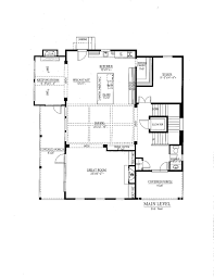 Colonial Floor Plan Colonial Style House Plan 3 Beds 3 50 Baths 3520 Sq Ft Plan 437 57