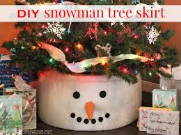 the best diy snowman tree topper for the season