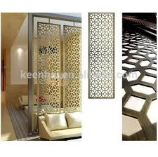 Room Divider Panel by Home Decor Stainless Steel Decorative Metal Screen Room Divider
