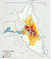 Concord California Map Elevation Maps Of The Sacramento San Joaquin Delta Region