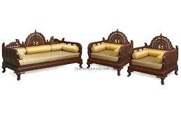 Sofa Set Amazon Sofa Set Indian Designs India Bangalore Wooden Furniture 19368