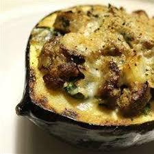 cuisiner courge courge poivrée fromagée recettes allrecipes québec