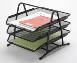 Office Desk Tray China Office Desk Trays Metal Mesh Stationery File Tray Office