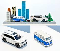 volkswagen lego volkswagen of america reimagines the vw journey through lego