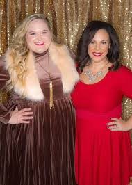 see who wore what at the dia u0026 co holiday party plus model magazine