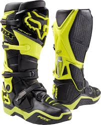 green dirt bike boots fox instinct motorcycle ebay
