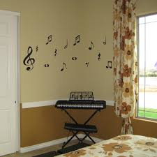 music note home decor bedroom music notes wall decal for wall tat in bedroom ideas with