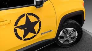 power wheels jeep yellow jeep wrangler rubicon and renegade receive mopar treatments for paris