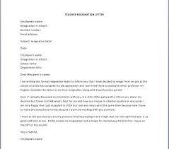 sample resignation letter u2013 smart letters