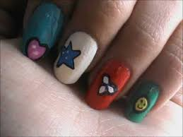easy nail designs for short nails with kids easy nail art