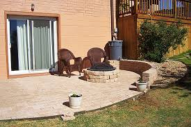 Pavers In Backyard by A Concrete Way To Raise Your Home U0027s Profilemr Done Right U2013 The
