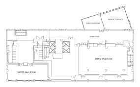 ballroom floor plan denver event space kimpton hotel born