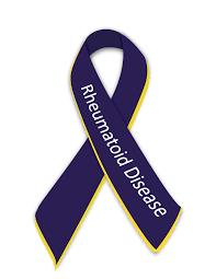 ra ribbon rheumatoid awareness images rheumatoid patient foundation