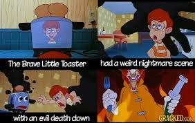 Little Toaster That Could 21 Shockingly Dark Moments In Beloved Children U0027s Movies