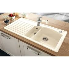 Colored Sinks Kitchen Coloured Kitchen Sinks Design Tour A White Kitchen W A Soft