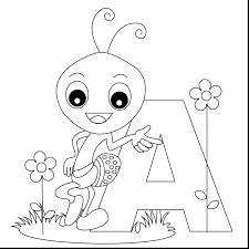 awesome letter coloring pages with letter a coloring page