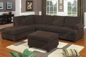 Sofa Sets Microfiber Sofa Sets And Brown Padded Microfiber Modern Motion