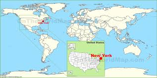 New York Boroughs Map by New York City On The World Map Jpg