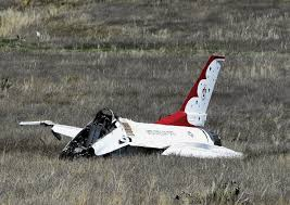 Air Force One Installation Thunderbirds Fighter Jet Crashes In Colorado Springs After Flyover